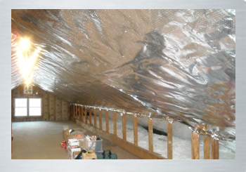 Commercial radiant barriers and attic insulation for commercial buildings, warehouses, and storage units in Greensboro, NC